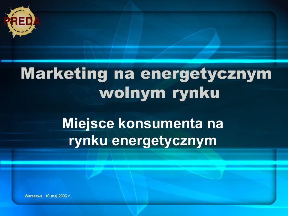 Marketing na energetycznym wolnym rynku