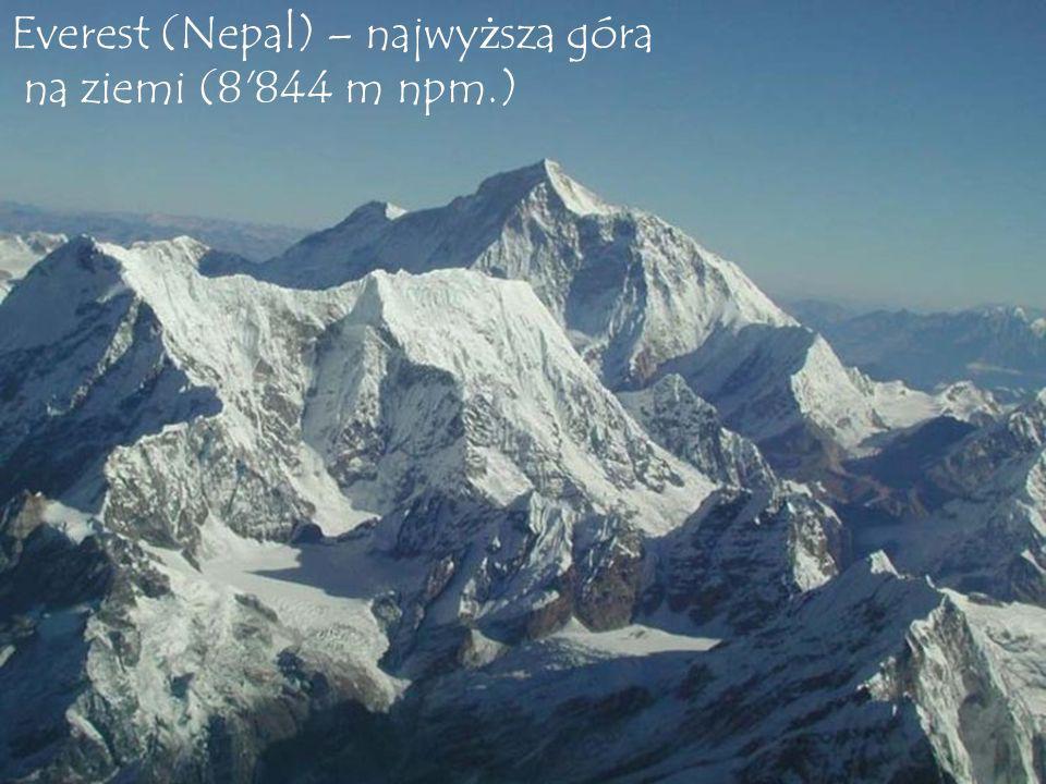 Everest (Nepal) – najwyższa góra