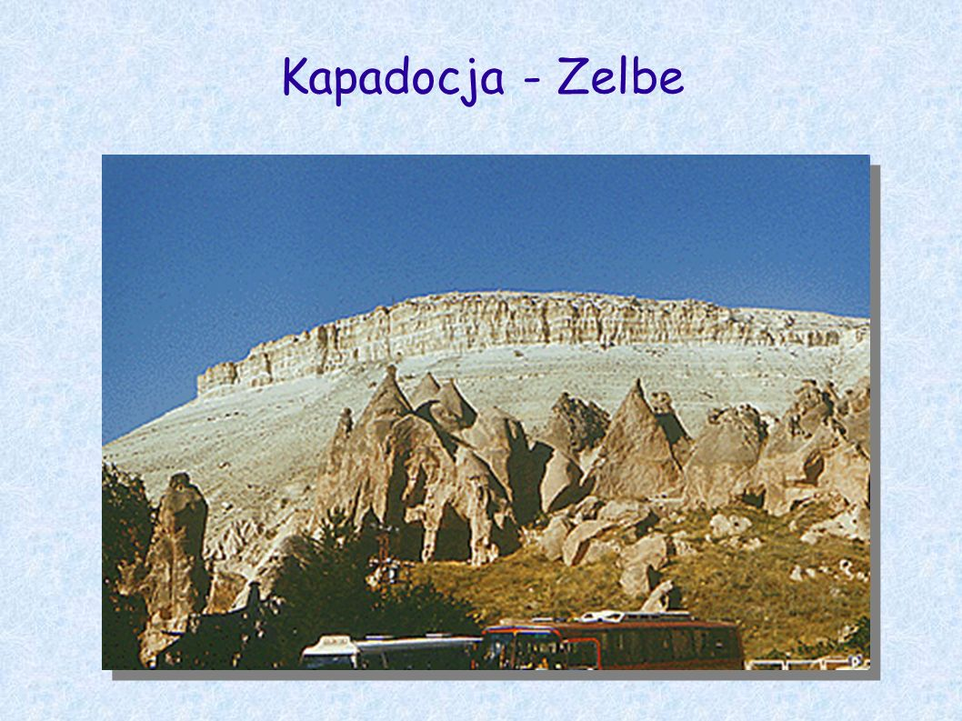 Kapadocja - Zelbe