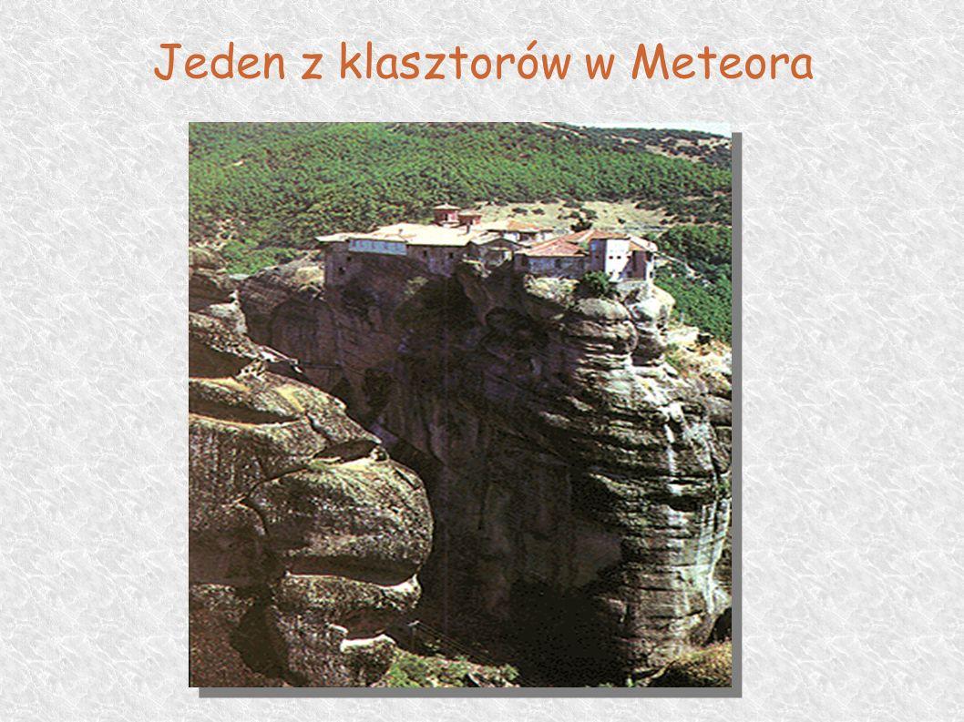 Jeden z klasztorów w Meteora