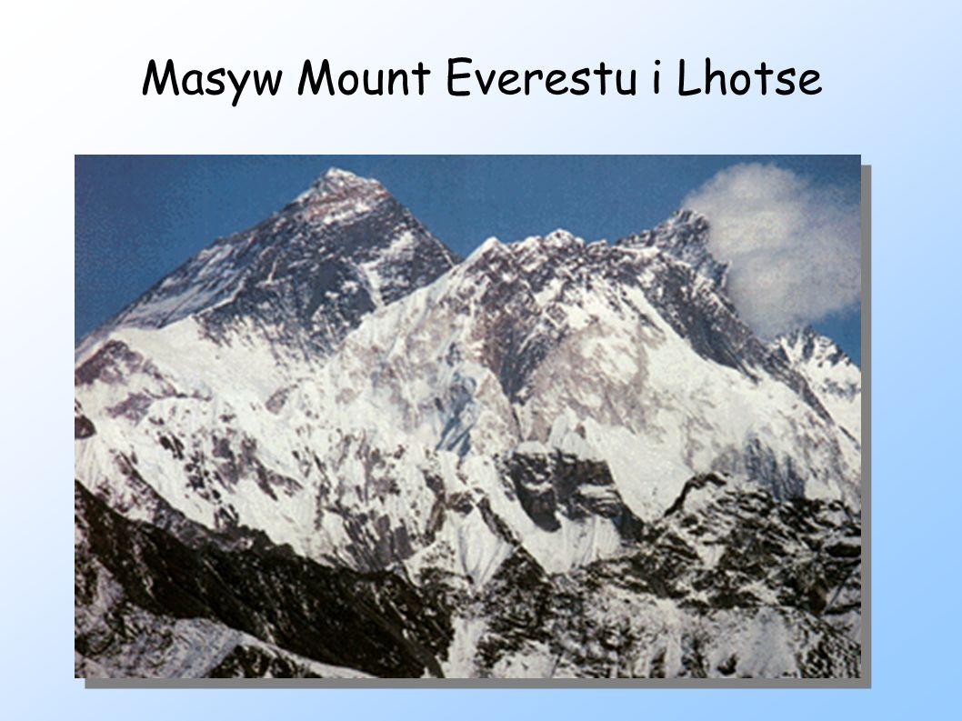 Masyw Mount Everestu i Lhotse