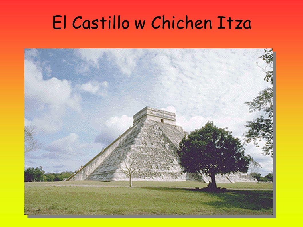 El Castillo w Chichen Itza
