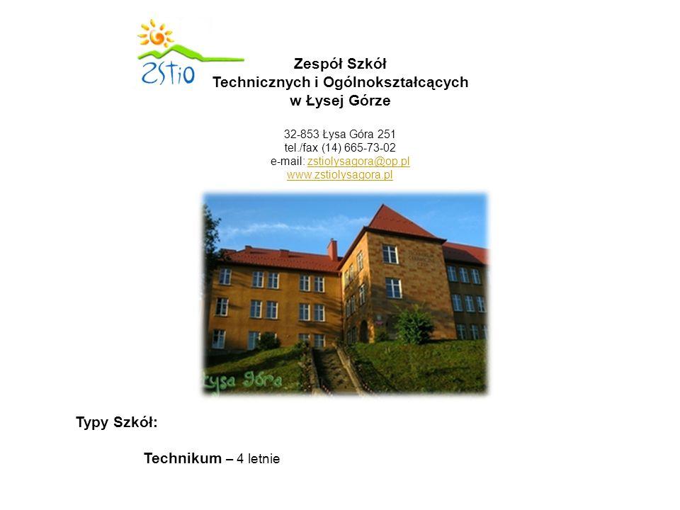 Zespół Szkół Technicznych i Ogólnokształcących w Łysej Górze