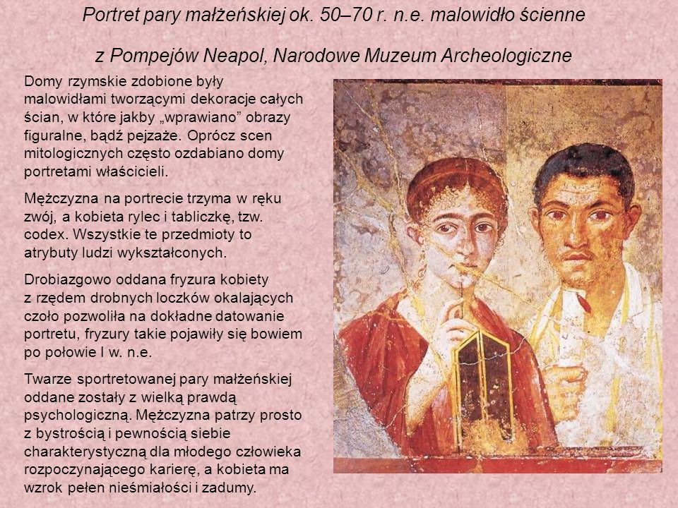 Portret pary małżeńskiej ok. 50–70 r. n. e