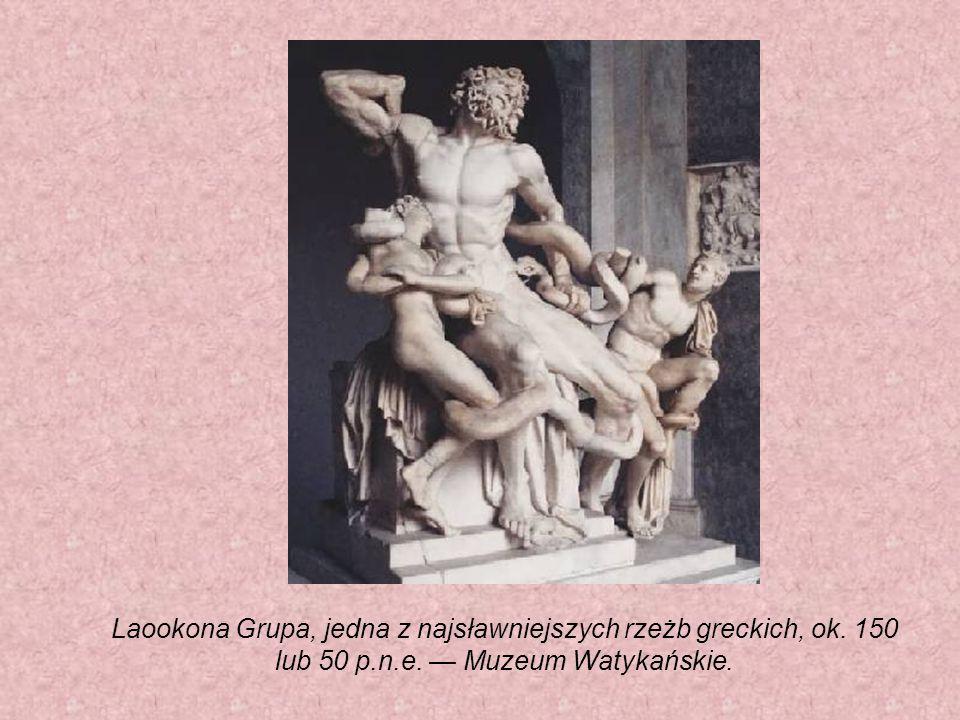 Laookona Grupa, jedna z najsławniejszych rzeżb greckich, ok