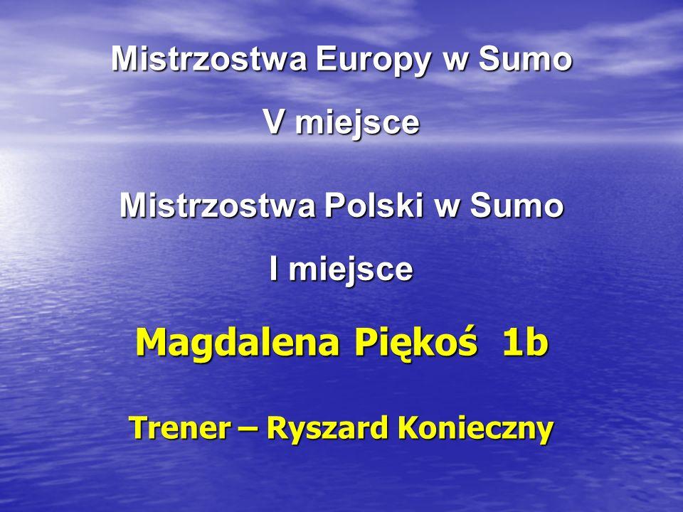 Mistrzostwa Europy w Sumo V miejsce