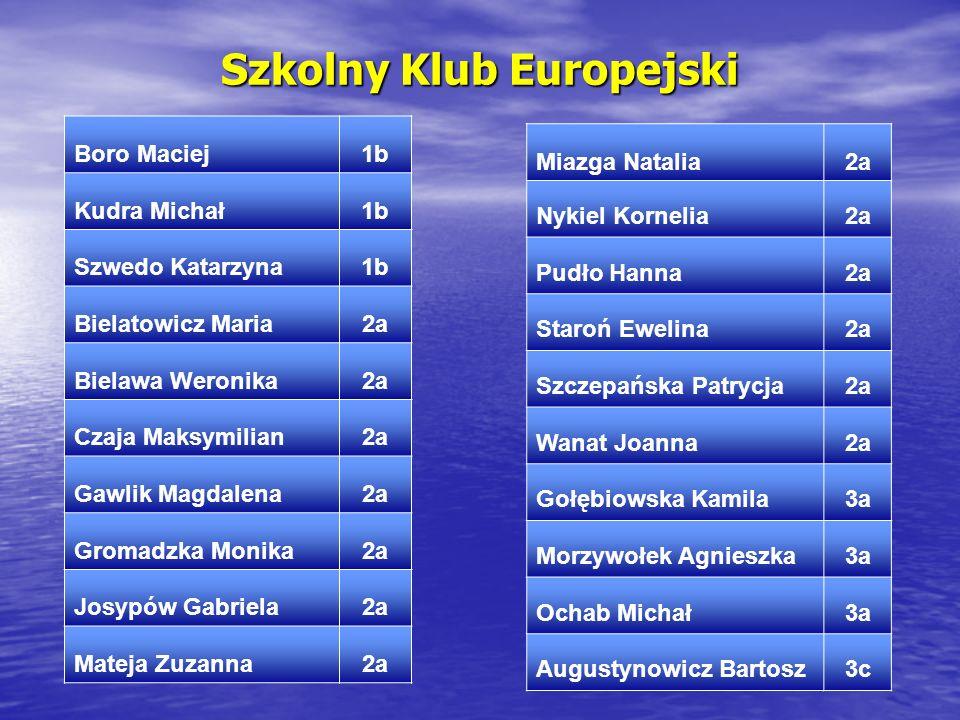 Szkolny Klub Europejski