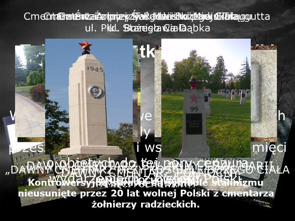 Tablice pamiątkowe i pomniki