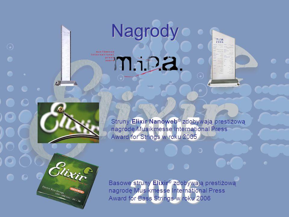 2005 2006 Nagrody Struny Elixir Nanoweb® zdobywają prestiżową