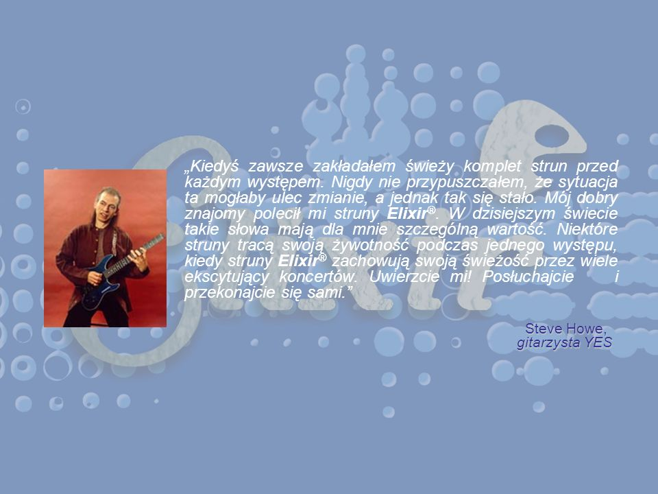 Steve Howe, gitarzysta YES