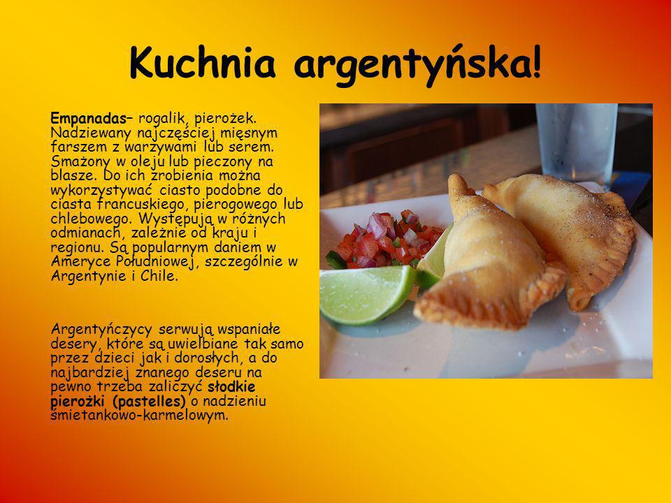 Kuchnia argentyńska!