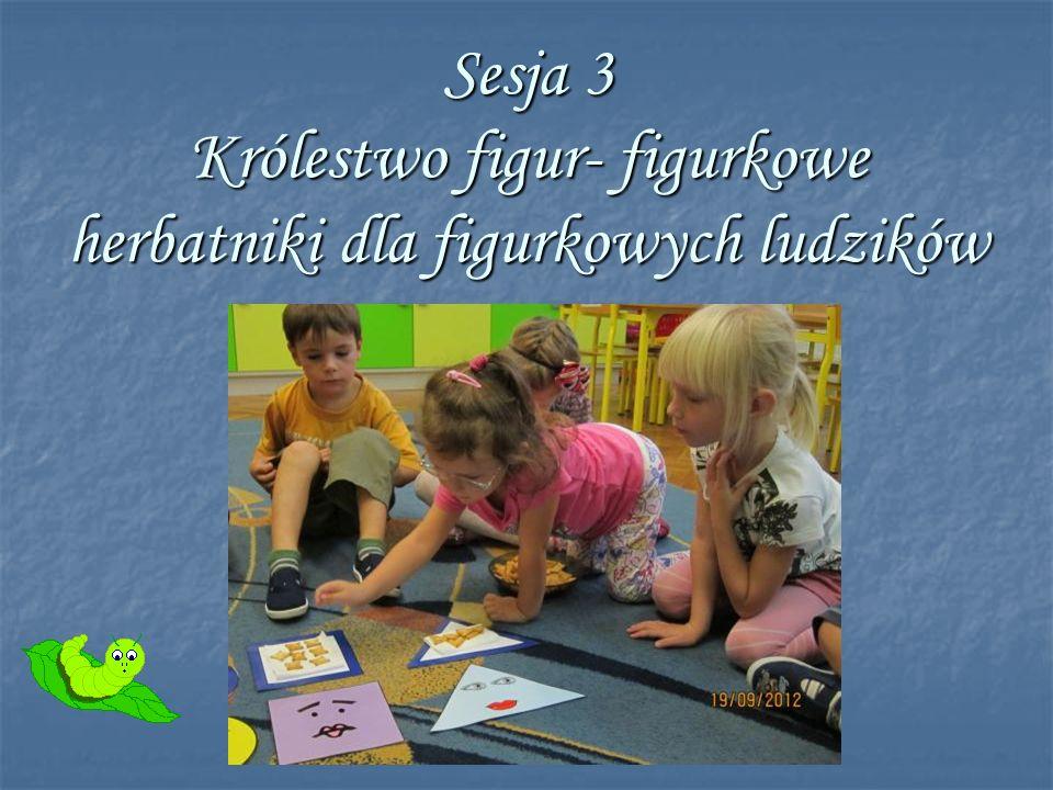 Sesja 3 Królestwo figur- figurkowe herbatniki dla figurkowych ludzików