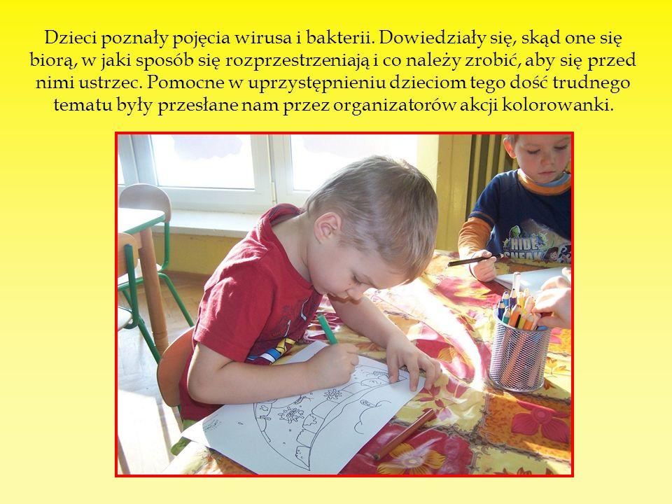 Dzieci poznały pojęcia wirusa i bakterii