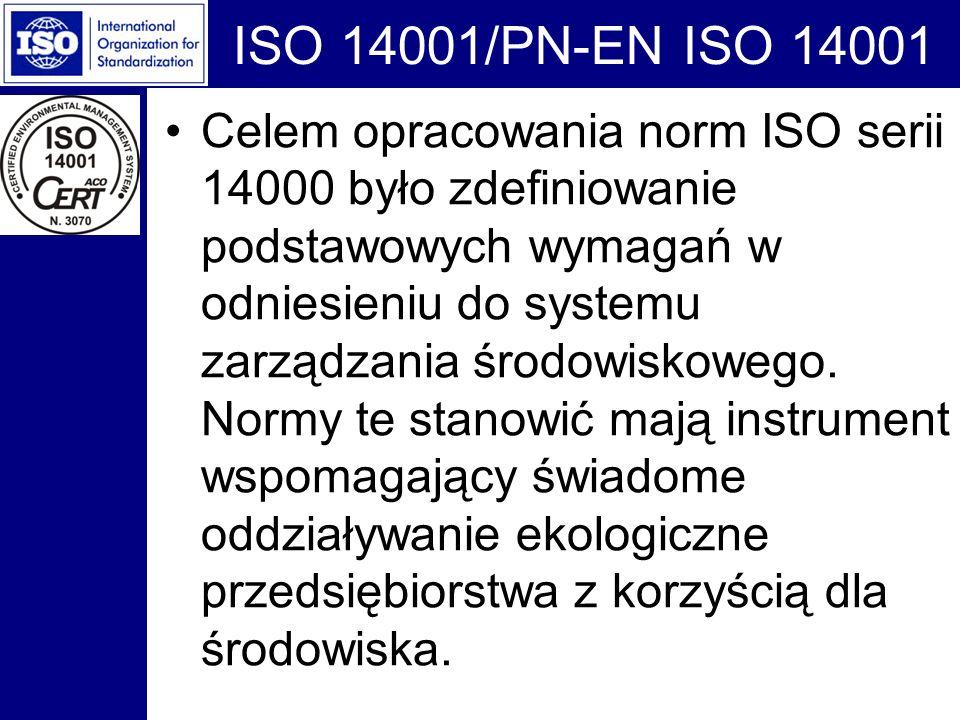 ISO 14001/PN-EN ISO 14001