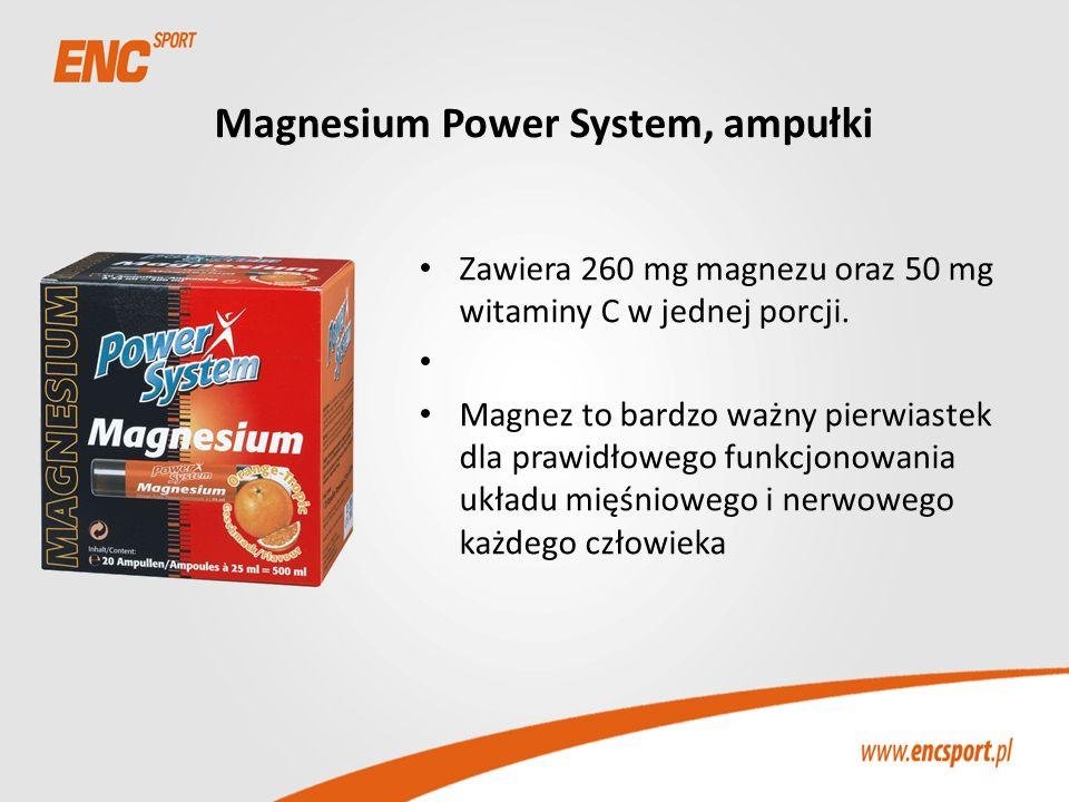 Magnesium Power System, ampułki