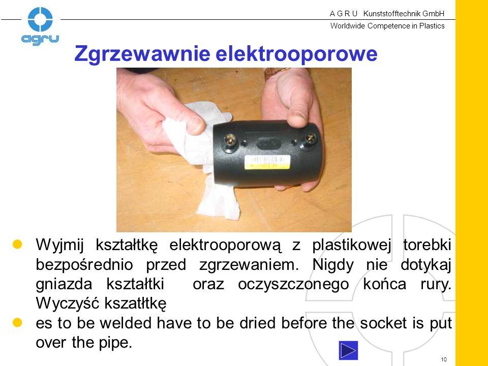 Zgrzewawnie elektrooporowe