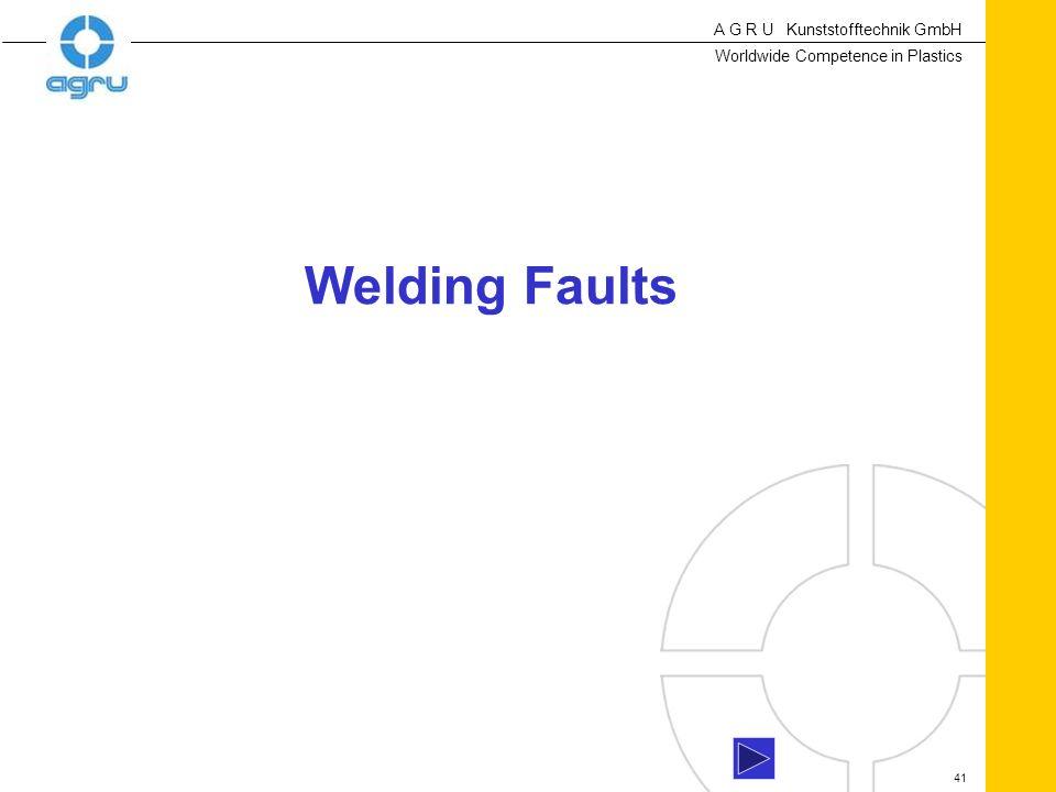Welding Faults