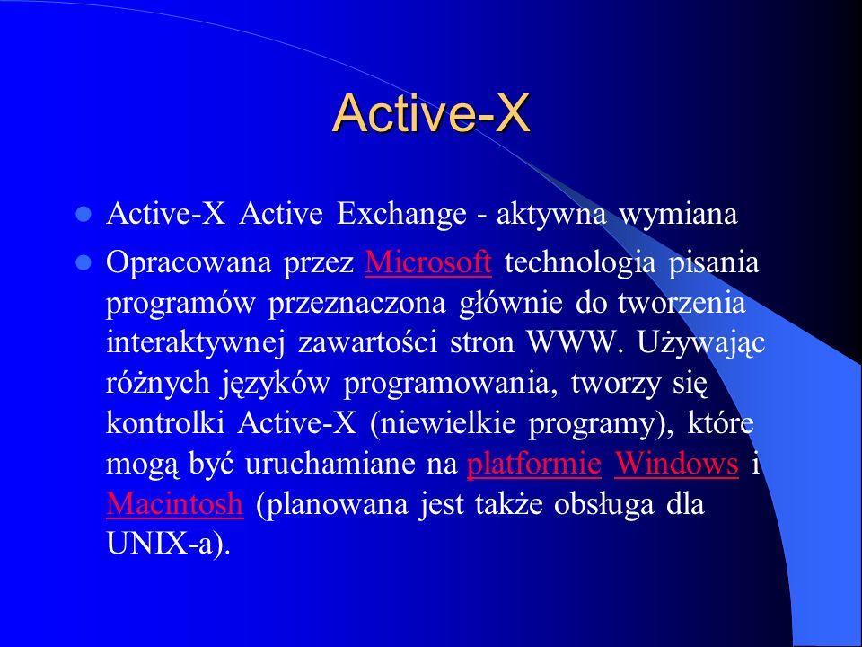 Active-X Active-X Active Exchange - aktywna wymiana