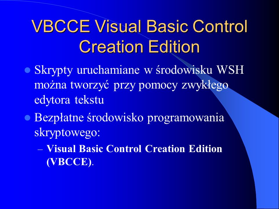 VBCCE Visual Basic Control Creation Edition