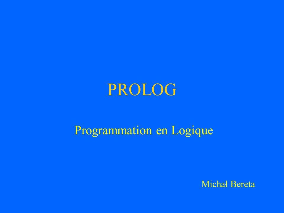 Programmation en Logique
