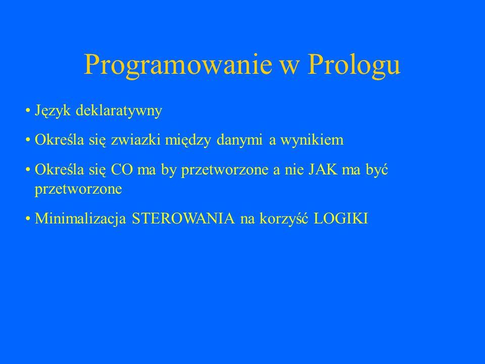 Programowanie w Prologu