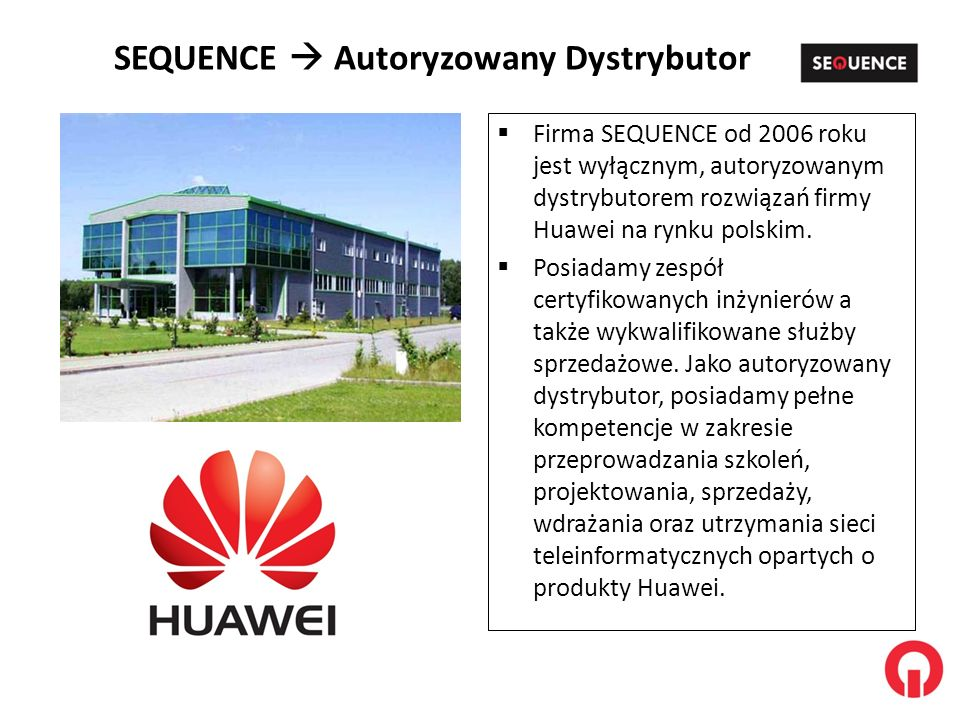 SEQUENCE  Autoryzowany Dystrybutor