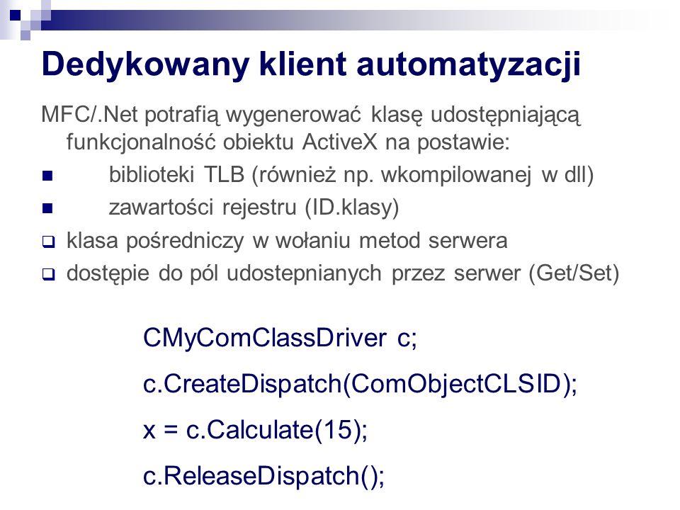 Dedykowany klient automatyzacji