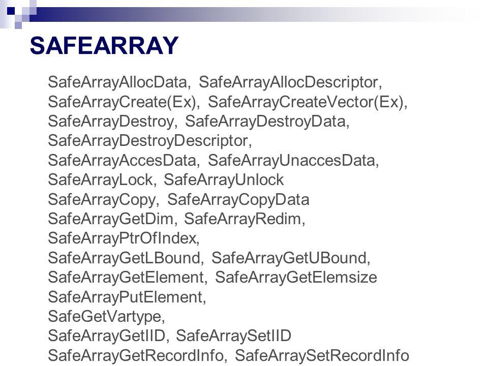SAFEARRAY