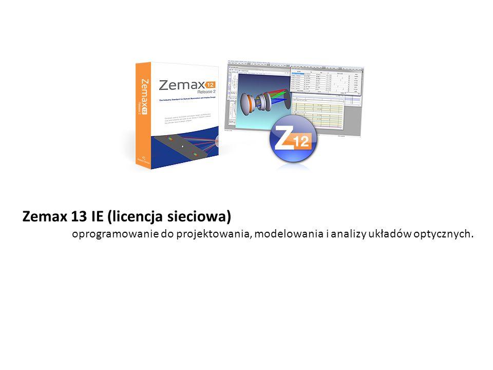 Zemax 13 IE (licencja sieciowa)