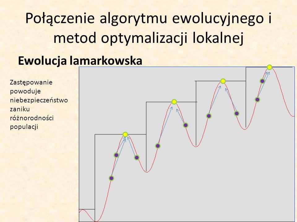Połączenie algorytmu ewolucyjnego i metod optymalizacji lokalnej