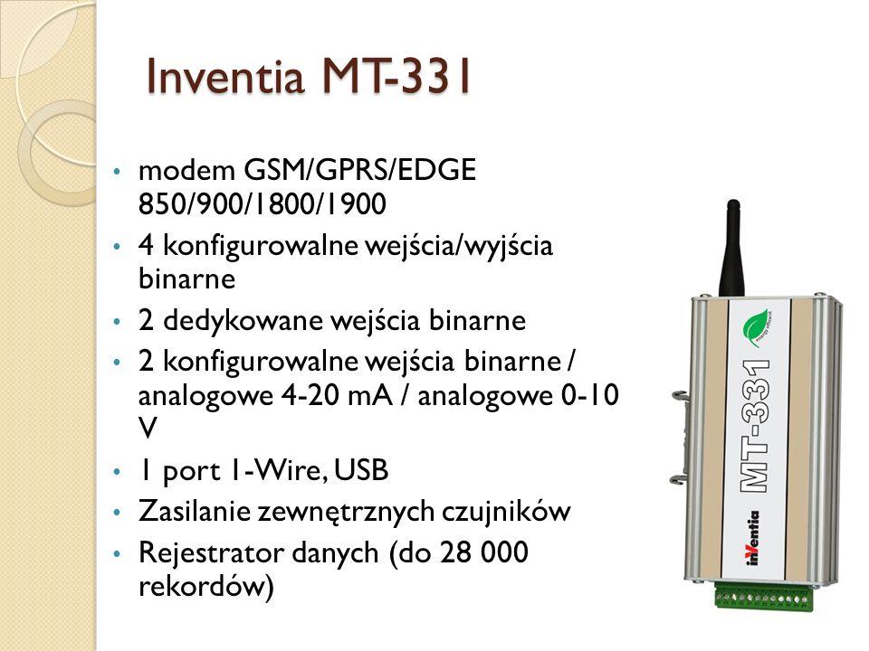 Inventia MT-331 modem GSM/GPRS/EDGE 850/900/1800/1900