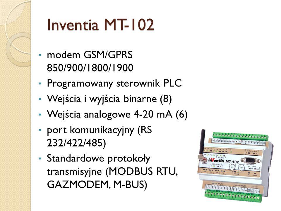 Inventia MT-102 modem GSM/GPRS 850/900/1800/1900