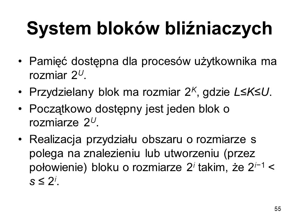 System bloków bliźniaczych