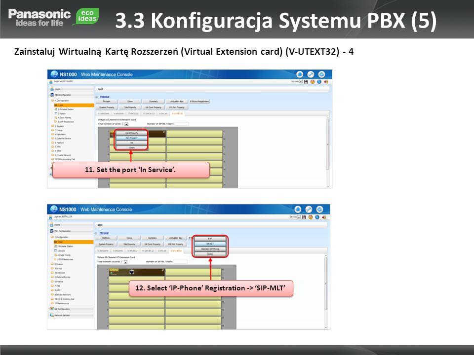 3.3 Konfiguracja Systemu PBX (5)