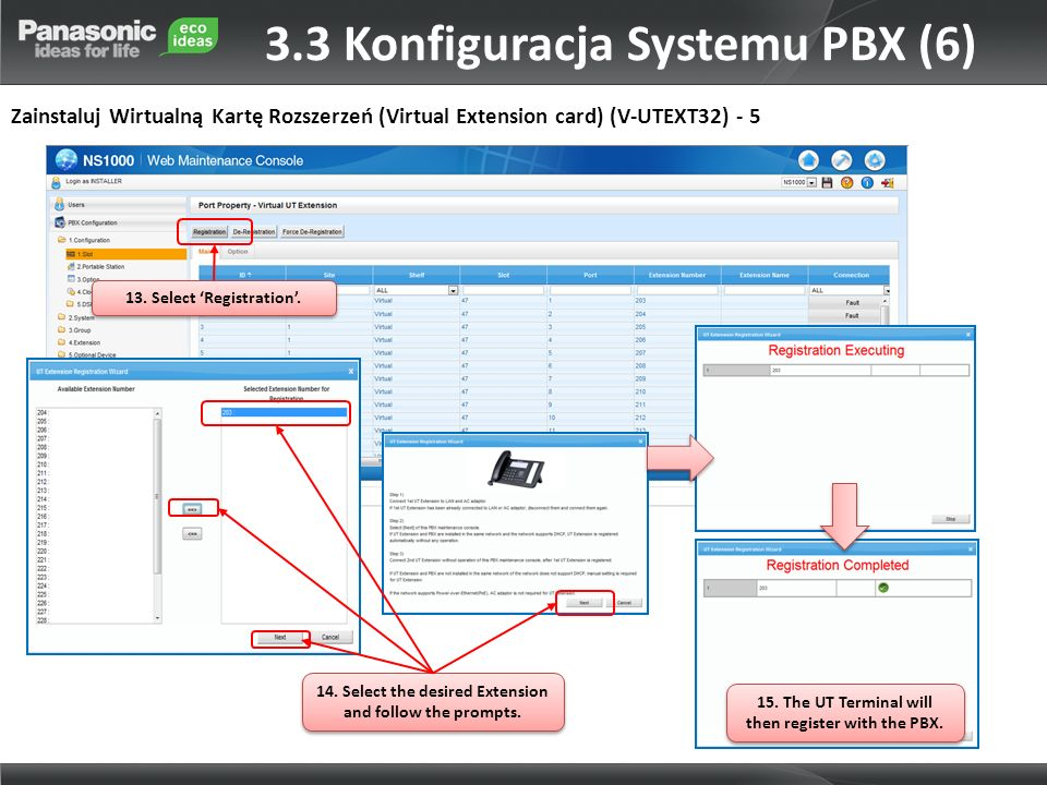 3.3 Konfiguracja Systemu PBX (6)