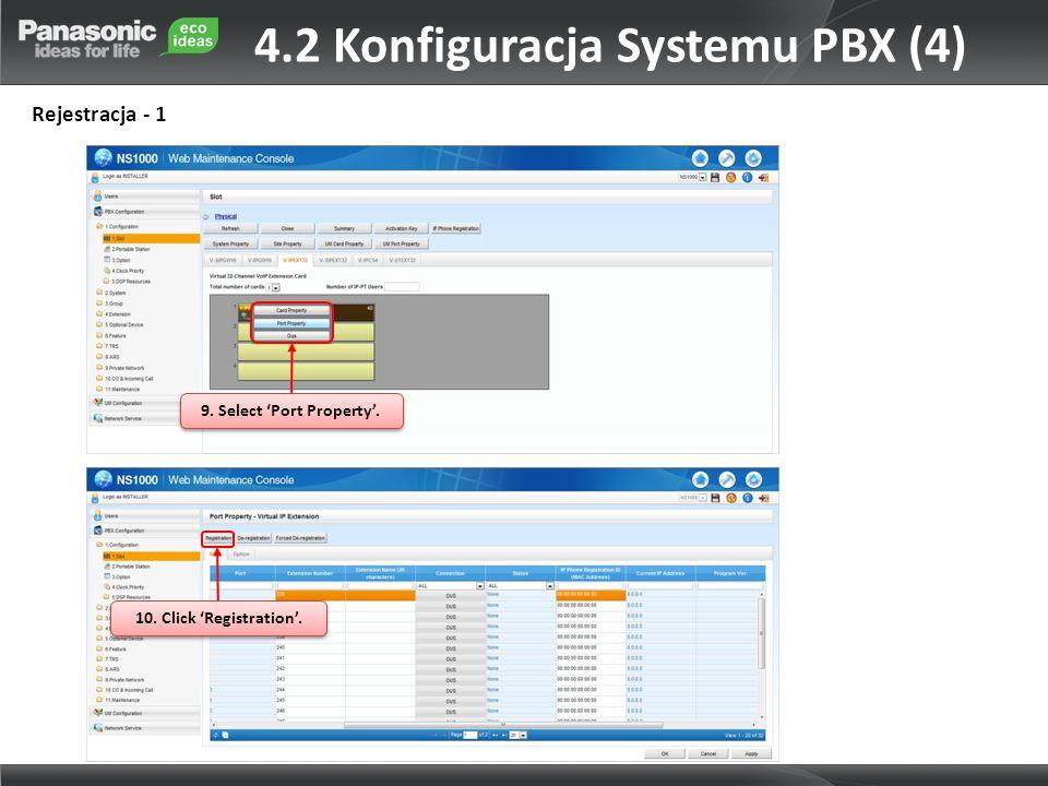 4.2 Konfiguracja Systemu PBX (4)