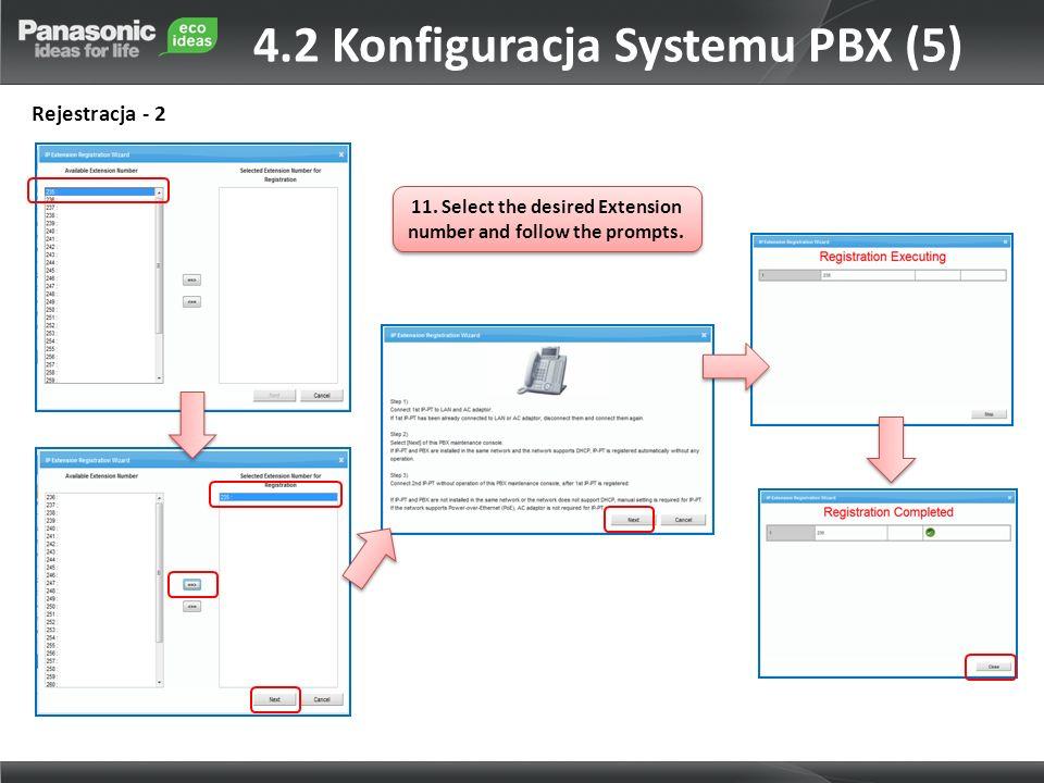 4.2 Konfiguracja Systemu PBX (5)