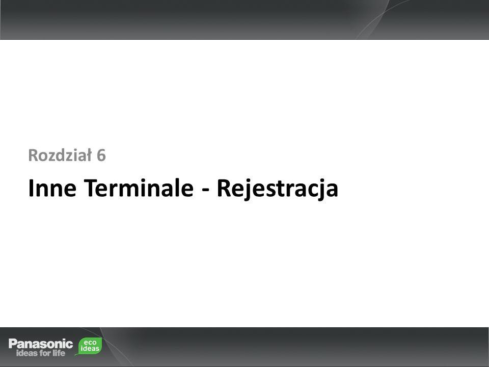 Inne Terminale - Rejestracja