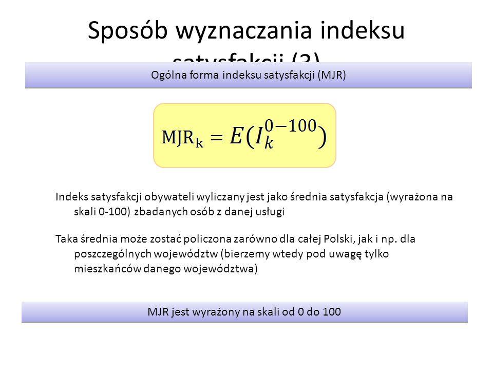 Sposób wyznaczania indeksu satysfakcji (3)
