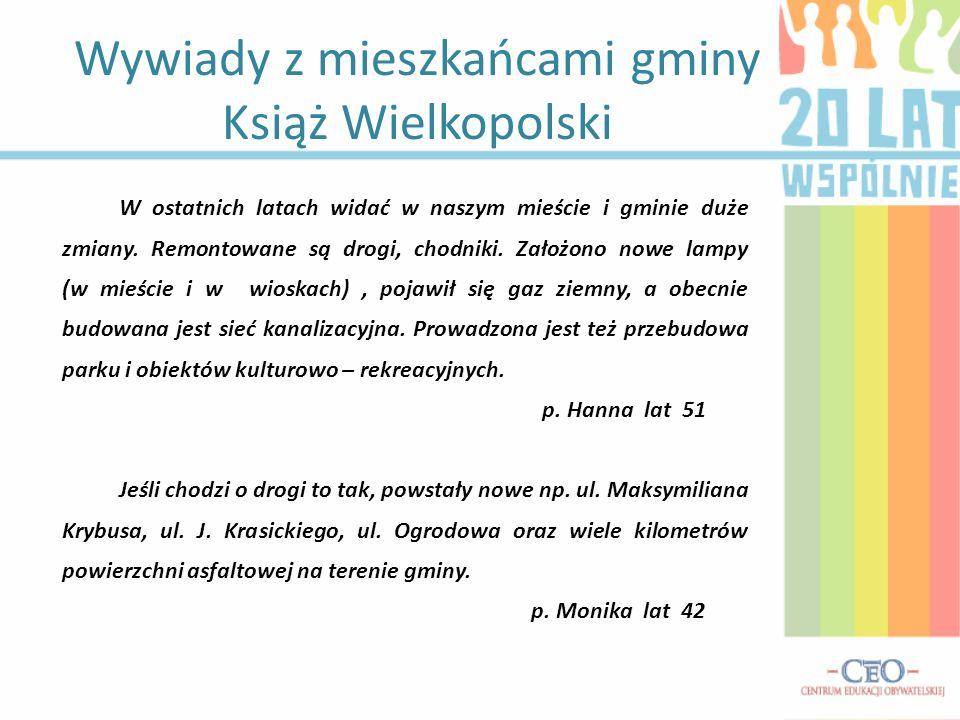 Wywiady z mieszkańcami gminy Książ Wielkopolski