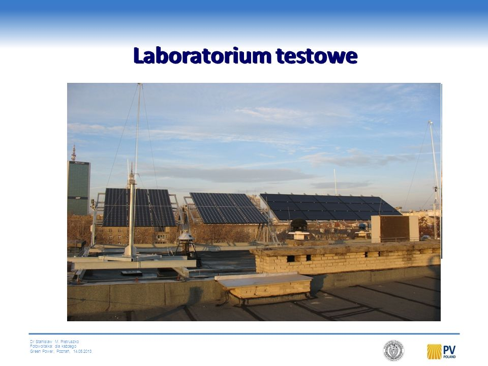 Laboratorium testowe Laboratorium testowe