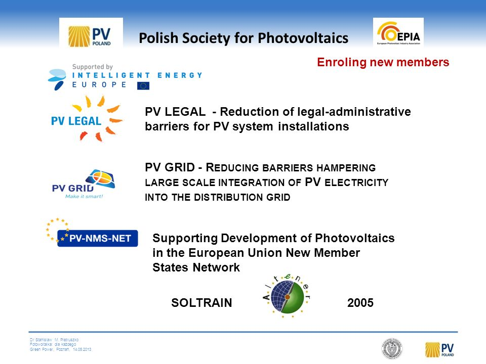 Polish Society for Photovoltaics