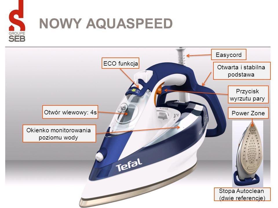 NOWY AQUASPEED Easycord ECO funkcja Otwarta i stabilna podstawa