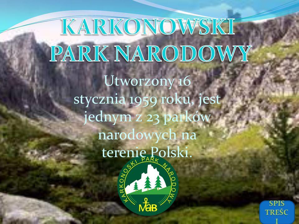 KARKONOWSKI PARK NARODOWY