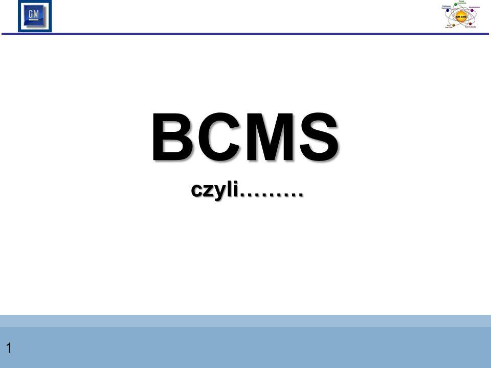 BCMS czyli……… 1