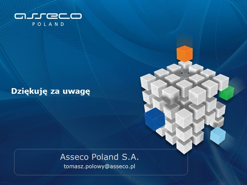 Asseco Poland S.A. tomasz.polowy@asseco.pl
