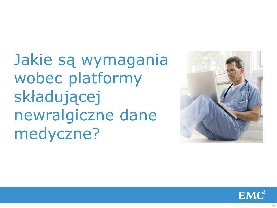 Jakie są wymagania wobec platformy składującej newralgiczne dane medyczne