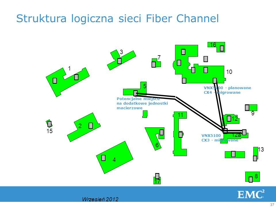 Struktura logiczna sieci Fiber Channel