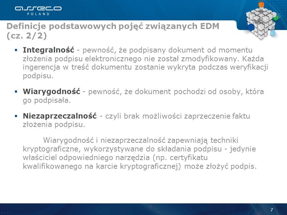 Definicje podstawowych pojęć związanych EDM (cz. 2/2)