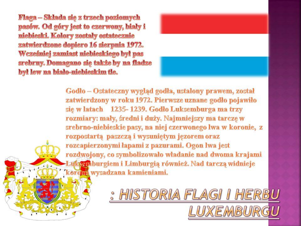 : Historia flagi i herbu luxemburgu